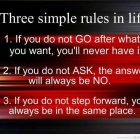 inspiration-inspirational-words-messages-quotes-word-sayings-message-three-simple-rules-in-life