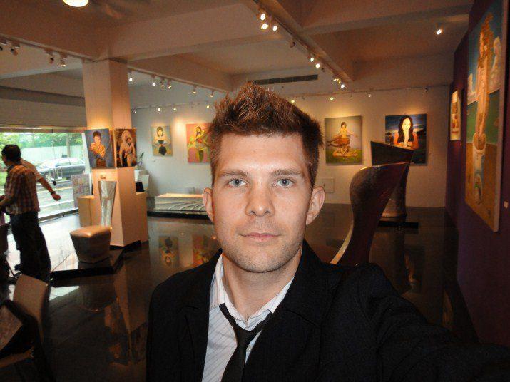derek murphy art exhibit