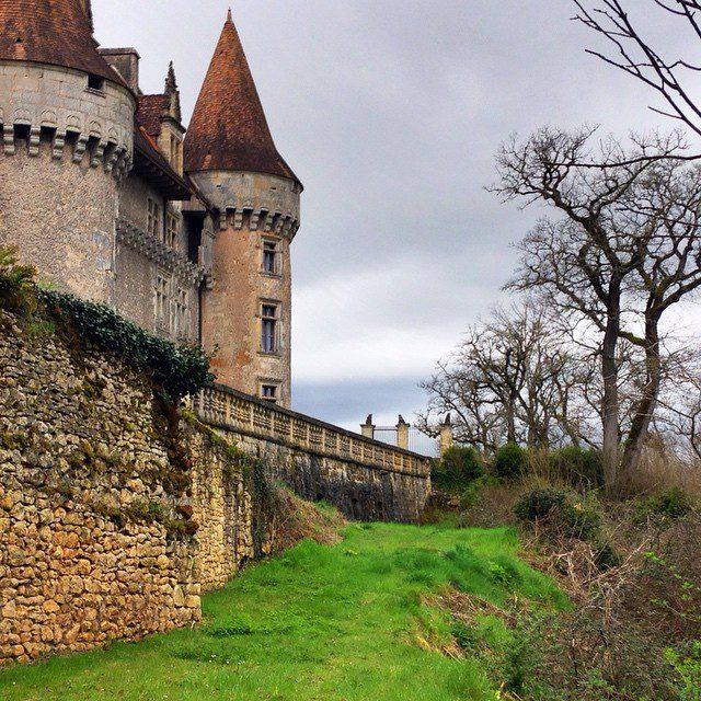 Chateau Marzac, France