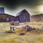 Ghost town in bodie California halloween spooky