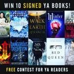 10 signed YA books giveaway! Link in bio share tohellip