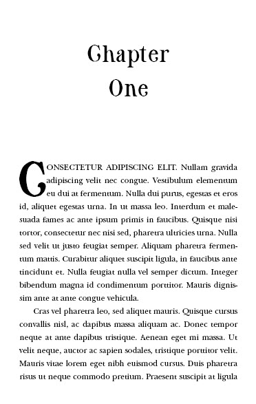 Best serif fonts for book design