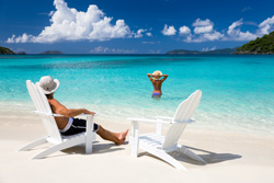 Win a free vacation to recharge your batteries!