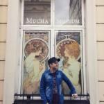 Mucha museum, Prague. Art nouveau