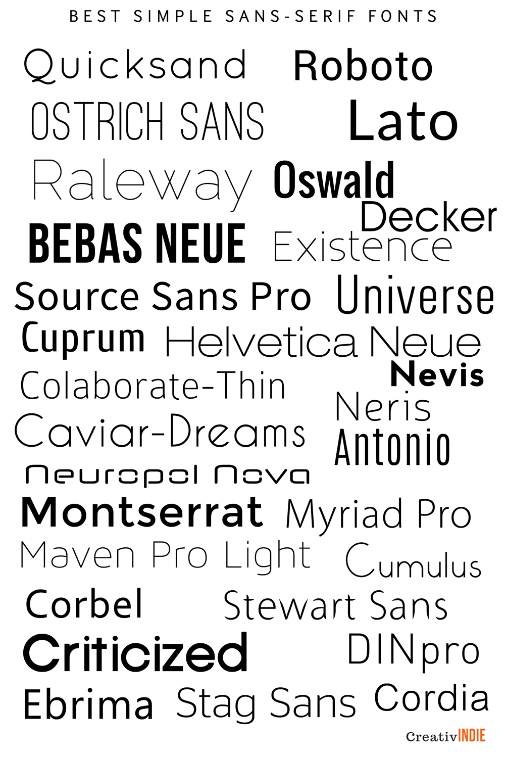 300 Fool Proof Fonts To Use For Your Book Cover Design An Epic
