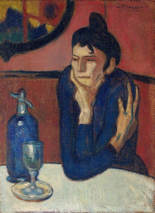 Absinthe-Drinker