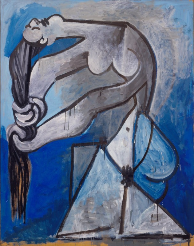 Nude+Wringing+her+Hair+by+Pablo+Picasso