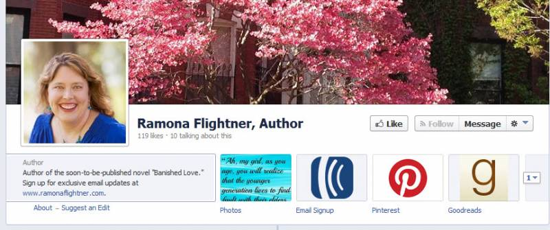 ramona 800x335 Why having a Facebook author page for your book is (mostly) useless