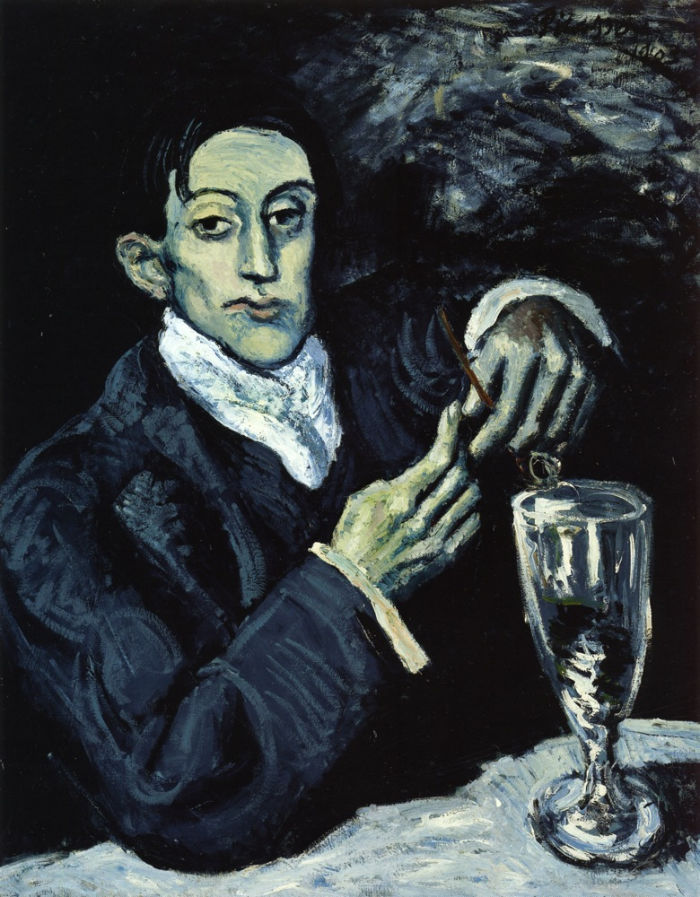 the-absinthe-drinker-portrait-of-angel-fernandez-de-soto-1903