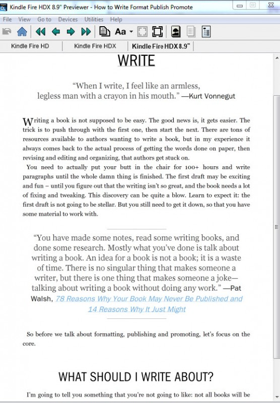 KindlePreviewer(desktop)