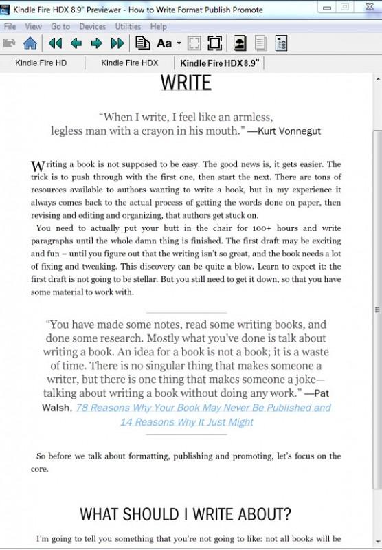 KindlePreviewer(desktop)