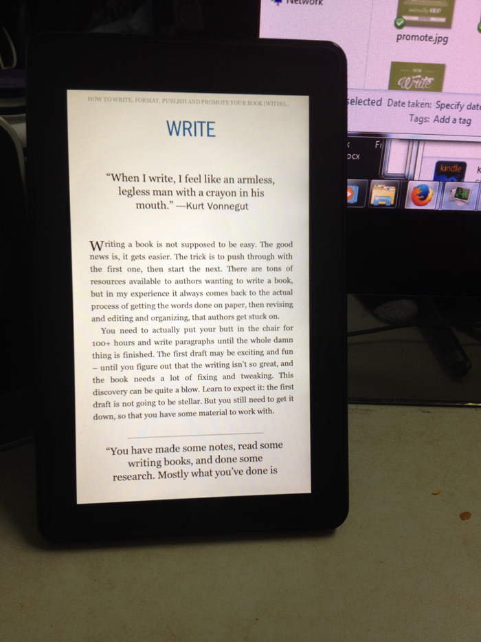 The Disappointments of Kindle Formatting (why is Amazon's