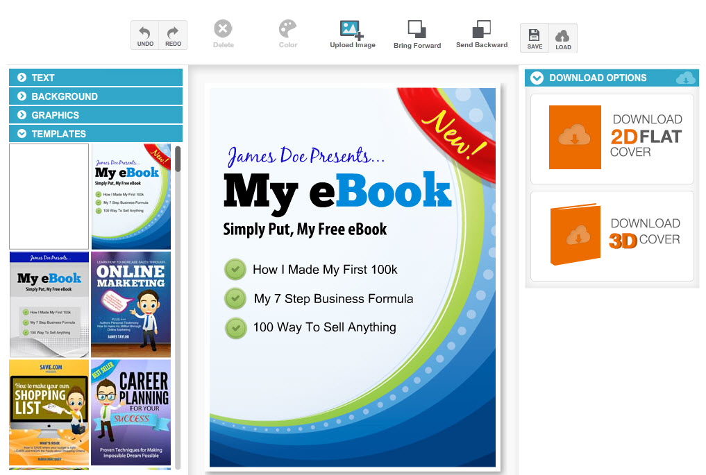 Best Free Online Graphics Editors For Making Your Own Book Cover - Online book template free