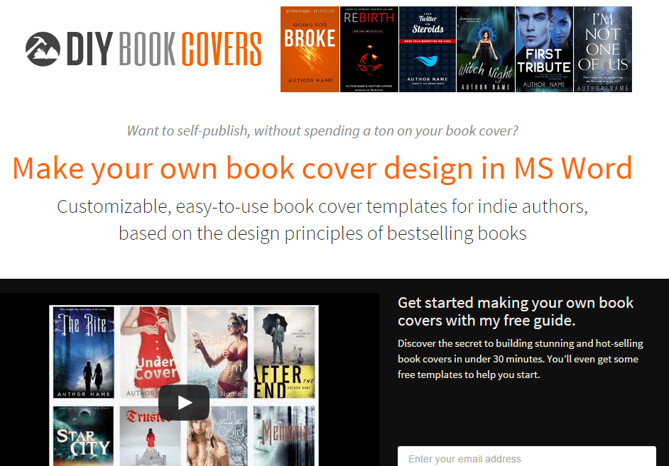 how book marketing works a case study on author websites creativindie
