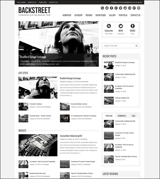 backstreet-author websites wordpress