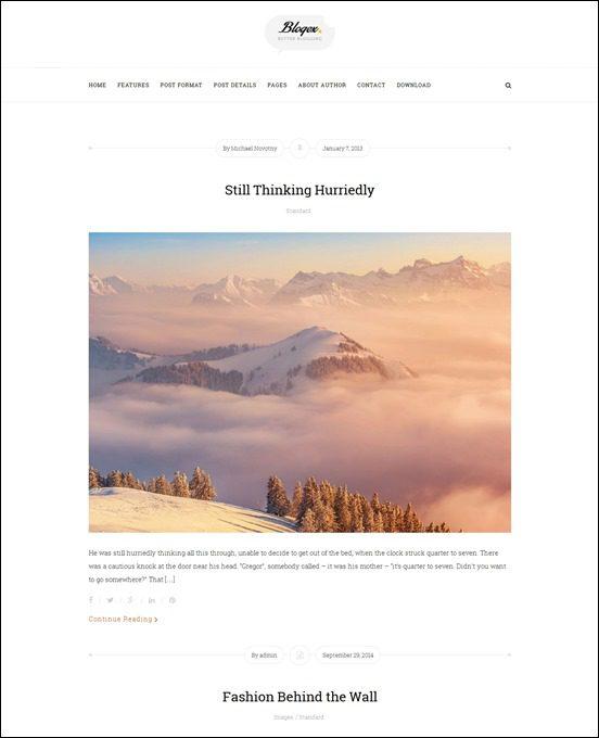 blogex-author websites wordpress