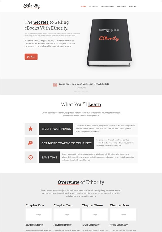 ethority-author websites wordpress