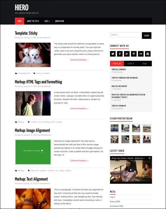 hiero-[3]author websites wordpress