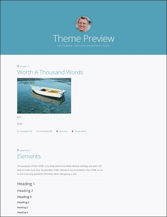highwind-author websites wordpress