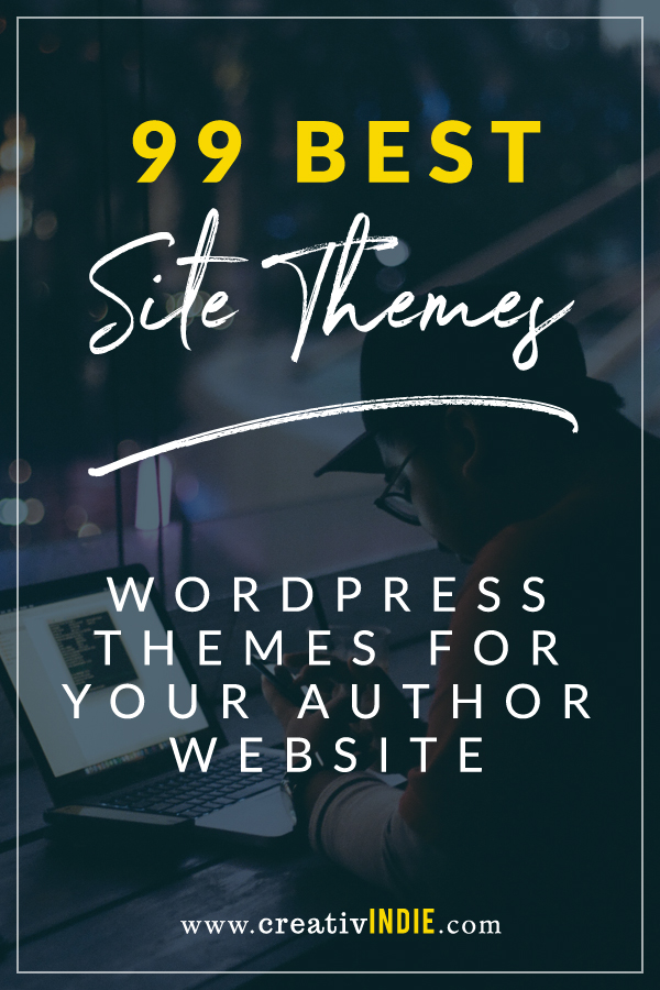 99 wordpress site themes for indie authors