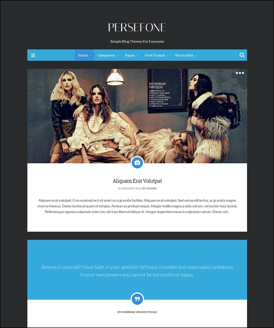 persefone-author websites wordpress