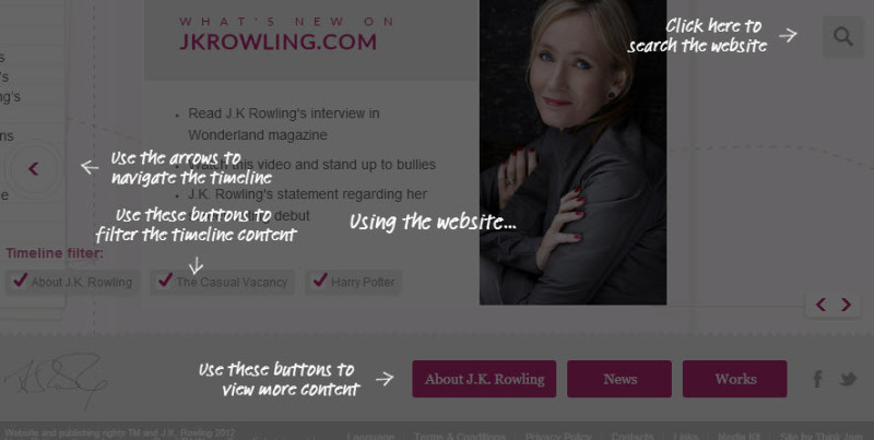 author website rowling