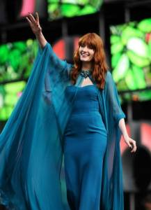 """Florence Welch performing in 2013"" by Failipes - Own work. Licensed under CC BY-SA 3.0 via Wikimedia Commons - https://commons.wikimedia.org/wiki/File:Florence_Welch_performing_in_2013.jpg#/media/File:Florence_Welch_performing_in_2013.jpg"
