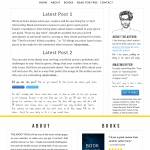 infographic author website
