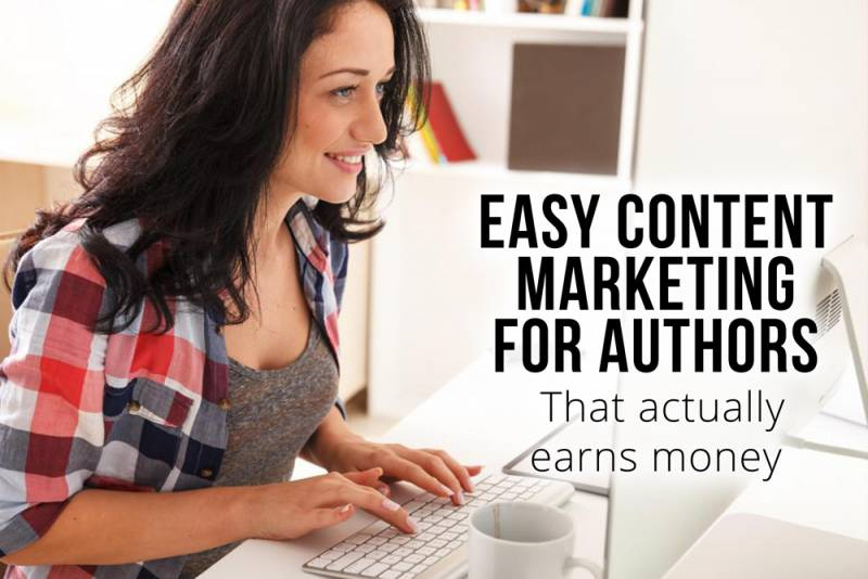 contentmarketing for authors