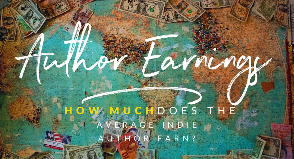how much the average indie author earns in publishing their book