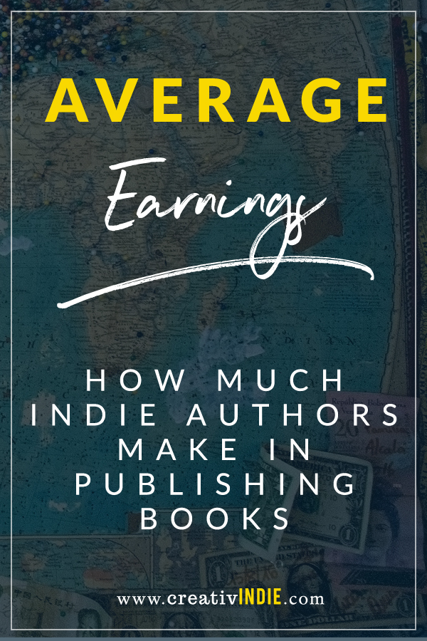 how much the average author makes in indie publishing