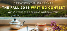 Writing contests (2016) – win a free writer's retreat!