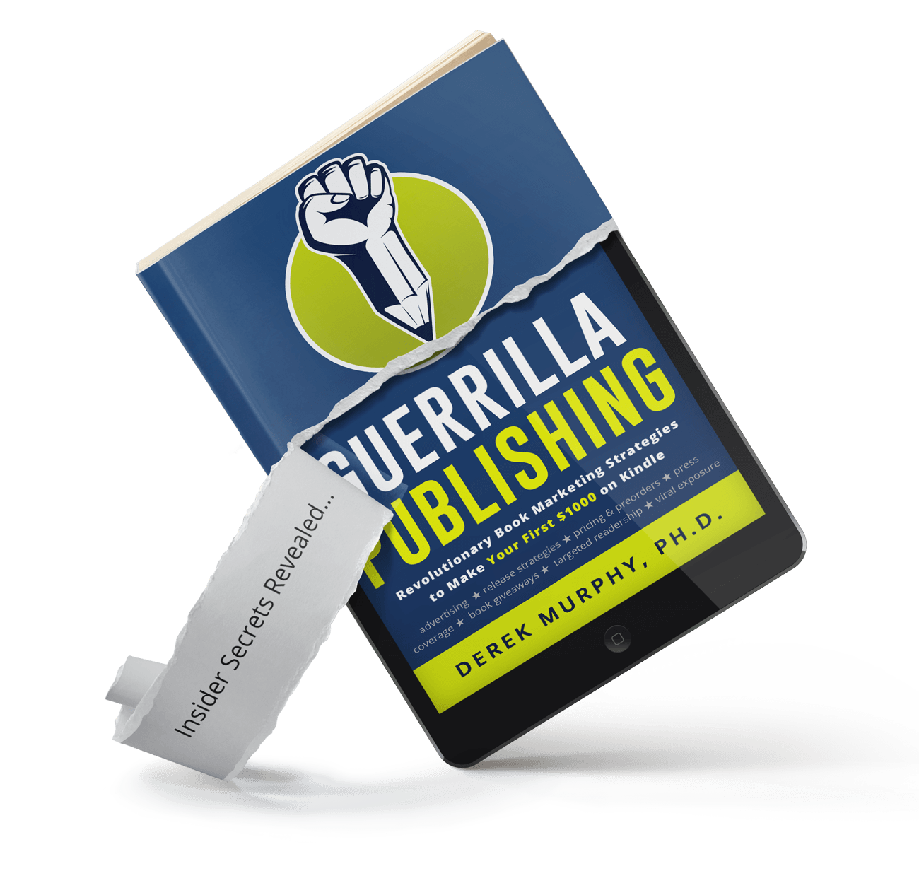 FREE BOOK: Guerrilla Publishing & Book Marketing Secrets of