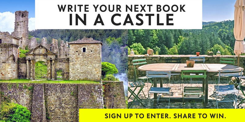 Write your next book in a castle! (Free writing residency)