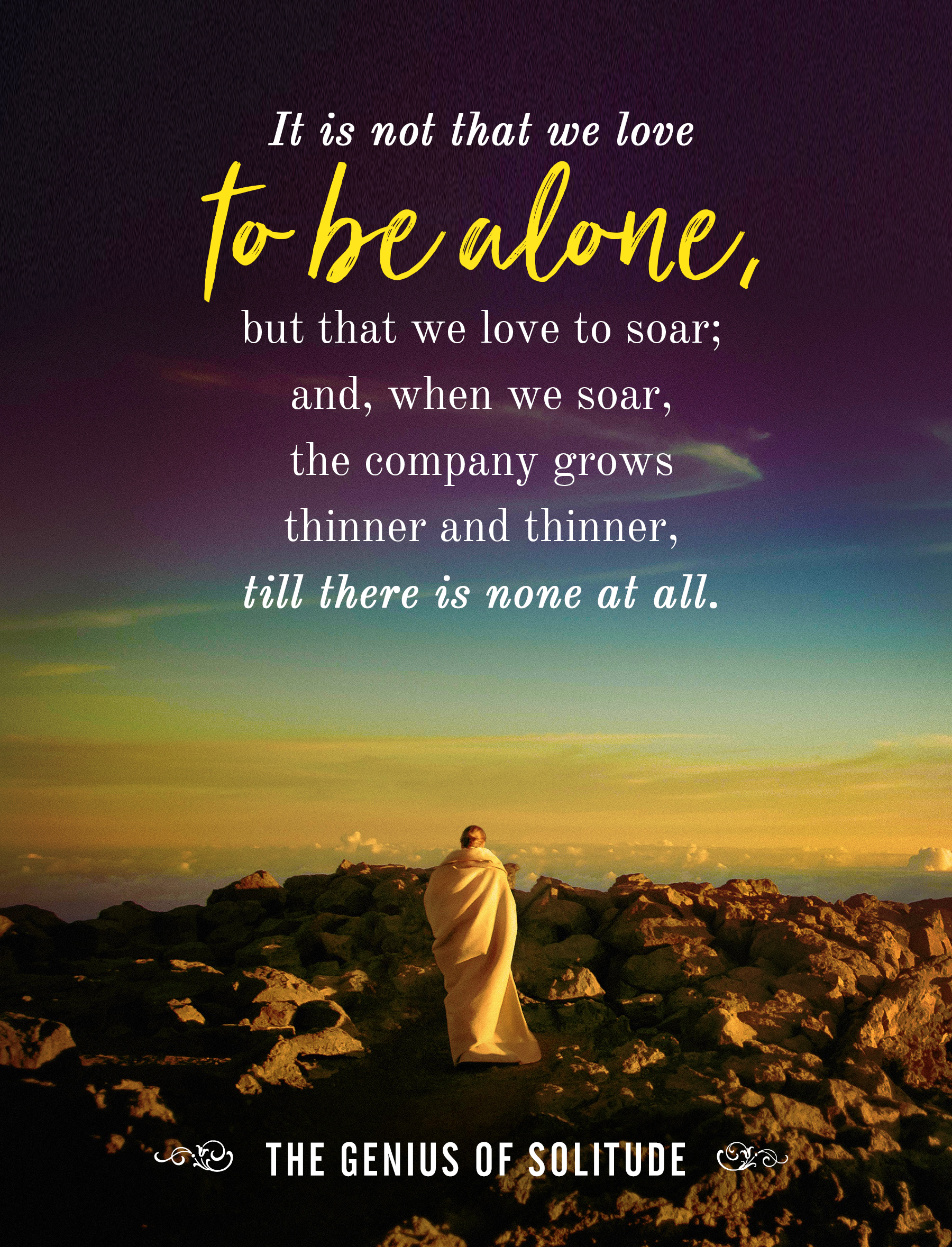 How to be alone, without being lonely (inspirational ...