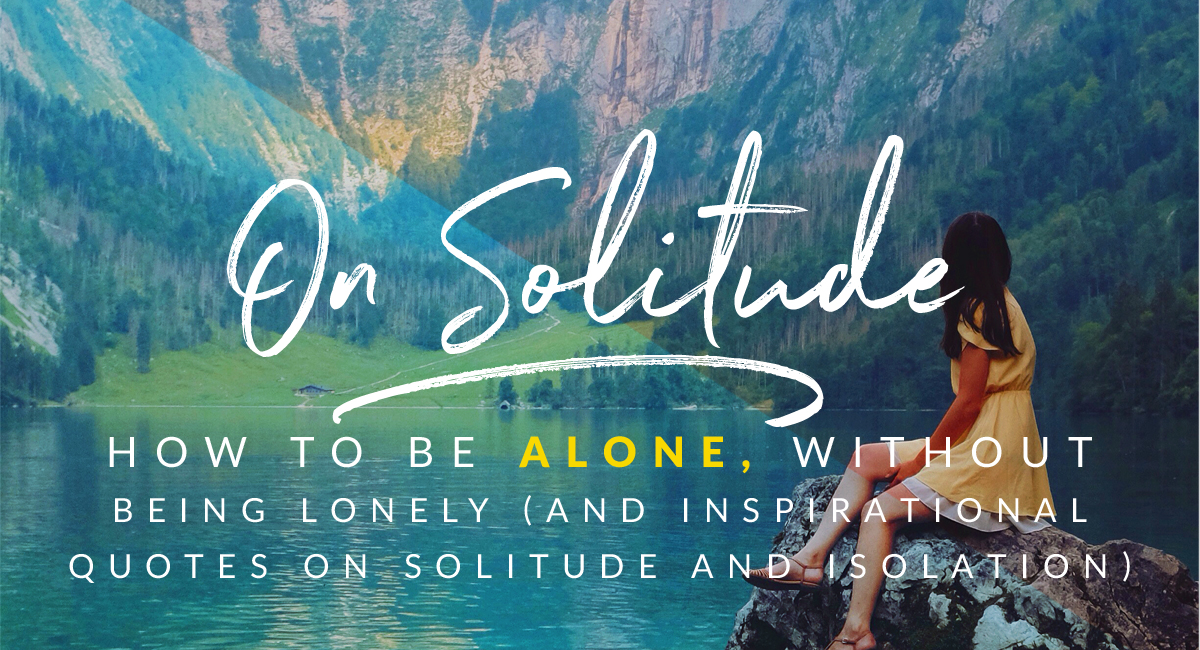 on solitude