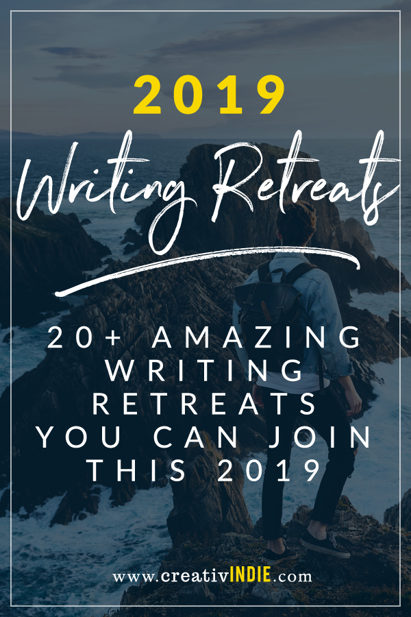 writing retreats for authors 2019